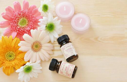 Flowers and aroma oils