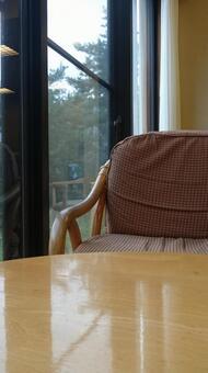 의자와 테이블