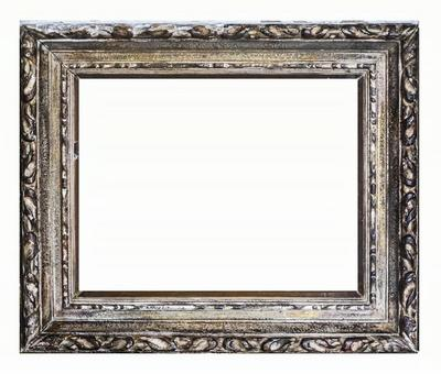 Antique picture frame_PSD material_gray