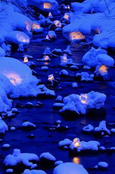 Otaru snow light path (Asuri River venue) 5