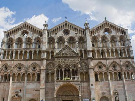 White building of Bologna 5