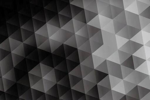 黑色六邊形抽象背景素材