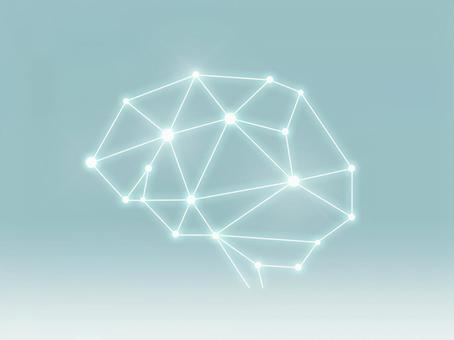 Simple brain AI style material _PSD2