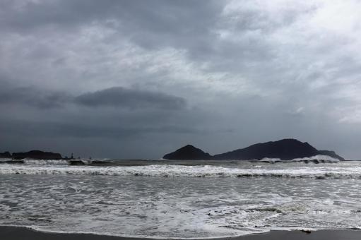 태풍의 풍경 니치 난 해안 3