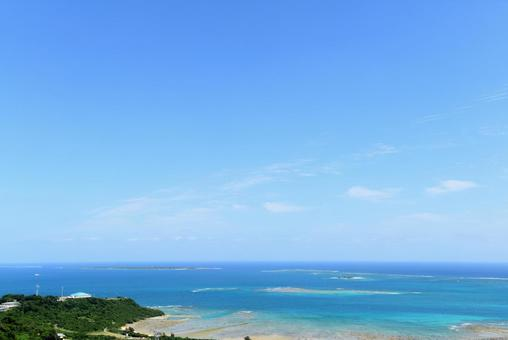 Beautiful scenery of Okinawa
