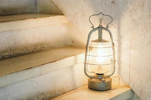 Lamps and stairs ③