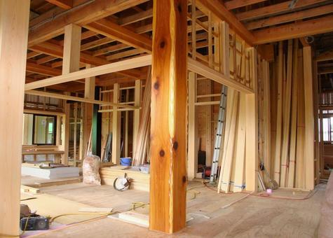 목조 주택 건설 현장 24