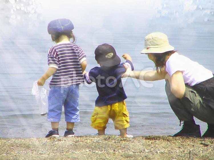 水遊び01の写真