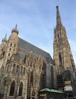 聖斯蒂芬大教堂,維也納,奧地利。