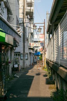 Seibu Yagisawa Station North Exit Alley