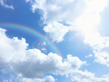 太陽和彩虹