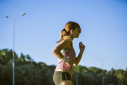 Female to jog at the park 57