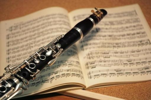 Clarinet and Instruction Book
