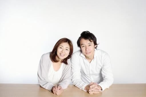 Smiling couple 2