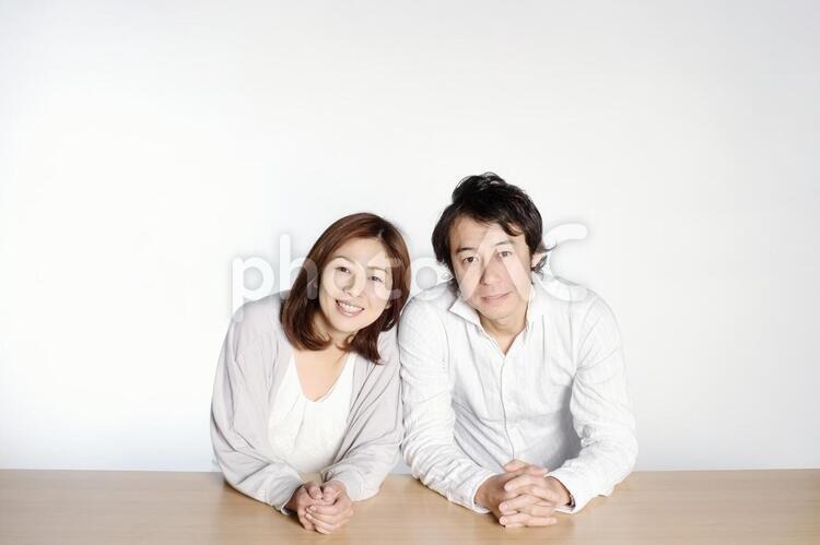 笑顔の夫婦2の写真