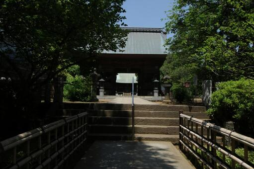 Yen Bank Temple Ren Wang door