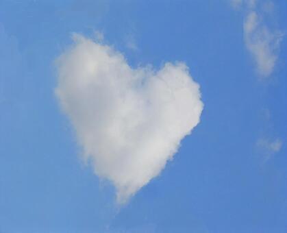 Fluffy Heart Cloud Texture