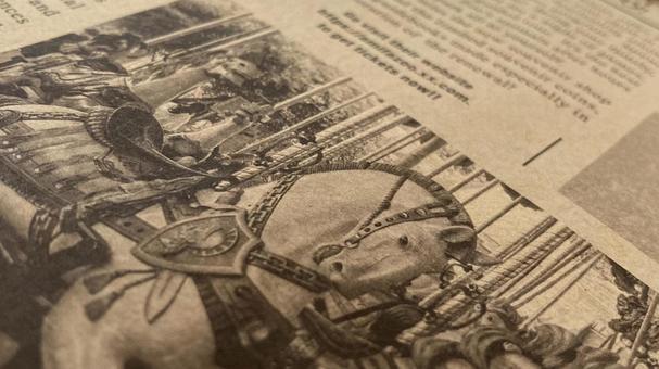 English newspaper merry-go-round