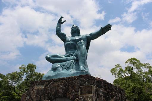長崎縣長崎市和平紀念雕像009