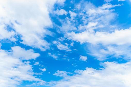 Sky blue sky background