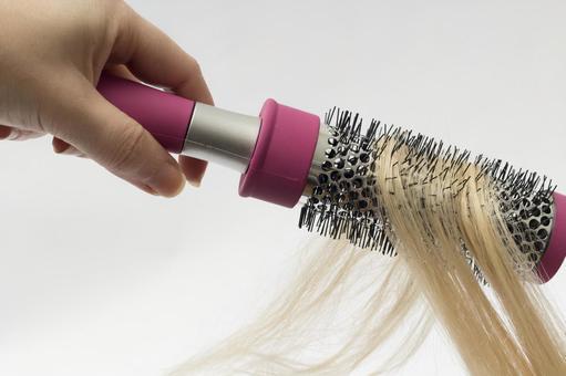 Hair and brush 13
