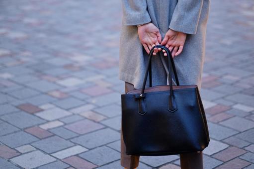 OL with a bag