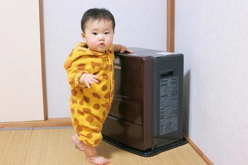 宝贝玩风扇加热器2