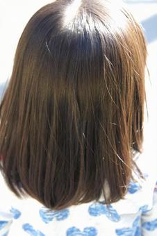 여자의 뒷모습 1