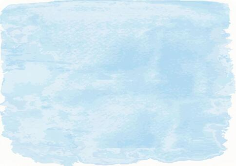 Light blue watercolor simple background texture wallpaper handwritten blue blur japanese style washi illustration simple plain pattern