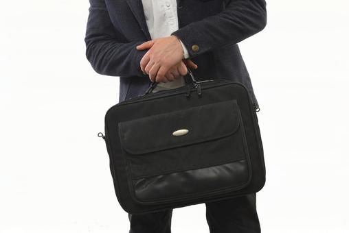 Foreign male with bag 3