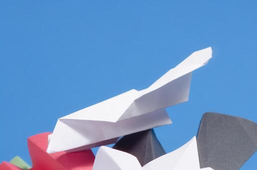 Paper flying machine 74
