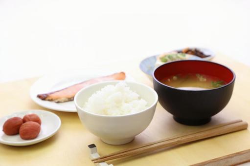 Simple Japanese set menu 12