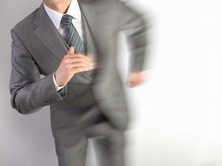 Businessman 【Running Male】
