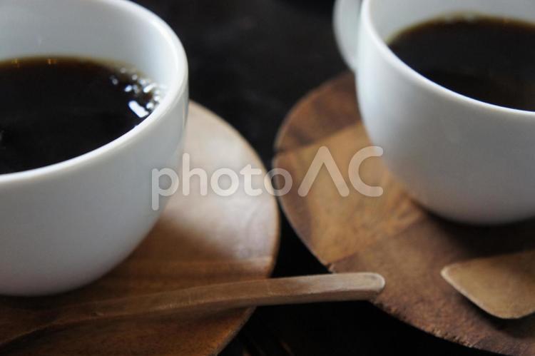 ブラックコーヒーの写真
