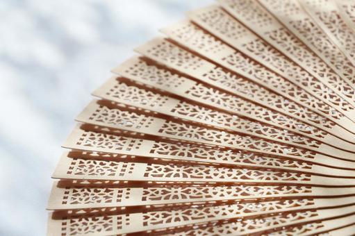 Cool wooden fan