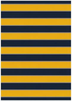 Background Material · Design · Navy Border x Yellow