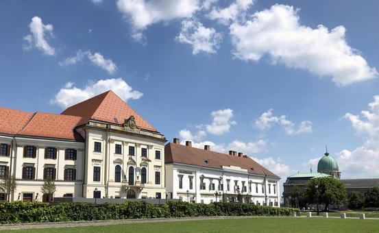 왕궁의 언덕, 부다페스트, 헝가리.