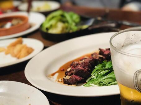 Beer restaurant beer and food
