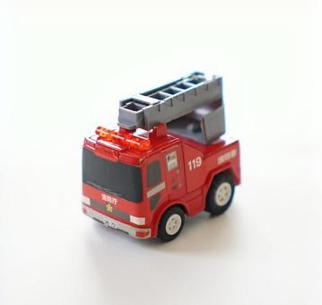 Fire engine mini car lick