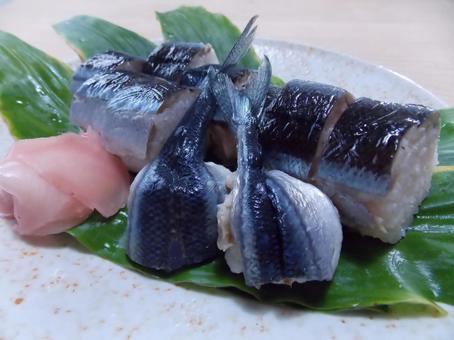 Autumn sweet sushi