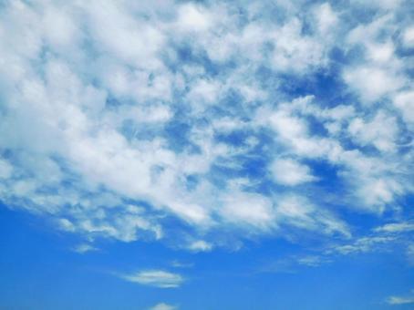 Refreshing autumn sky (texture)