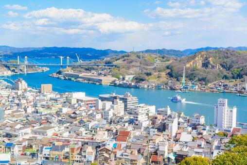 히로시마 현 오노 미치시의 거리