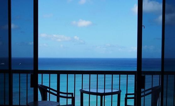 아침 바다 (호놀룰루)