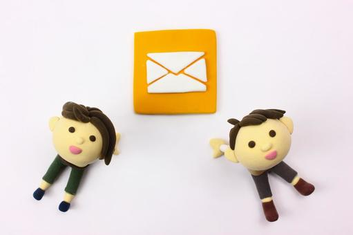 Clay Art Icon Mail 3