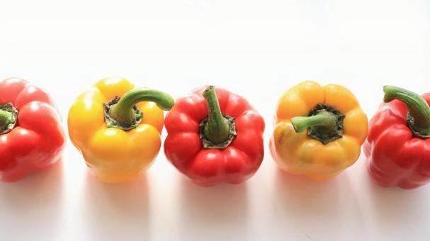 Fresh vegetable paprika