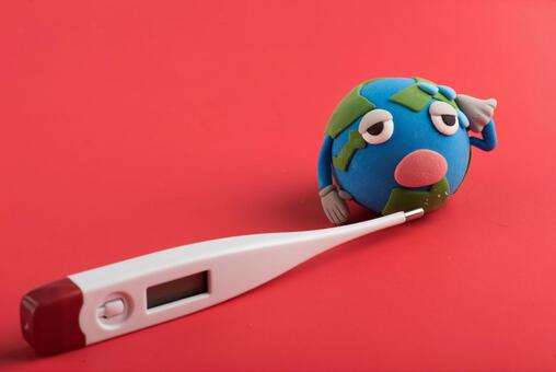 Earth and thermometer 3