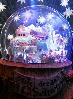 Giant snow globe 1