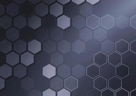 Background material Hexagon / geometric pattern