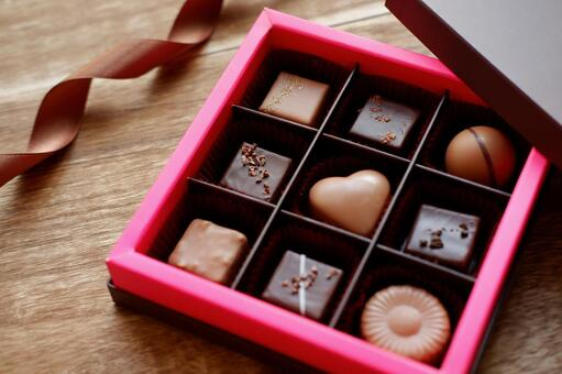 Valentine white day chocolate