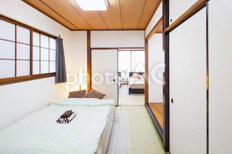 ベッドルーム・寝室の写真